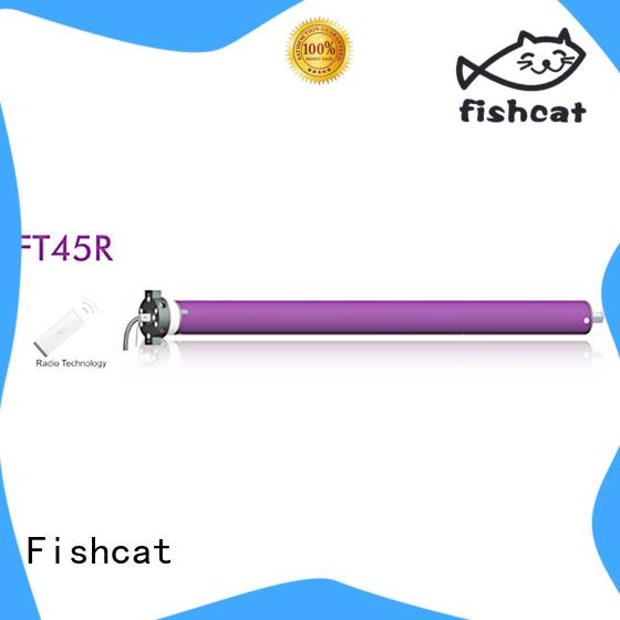 Fishcat tubular motor china satisfying for roller shutter