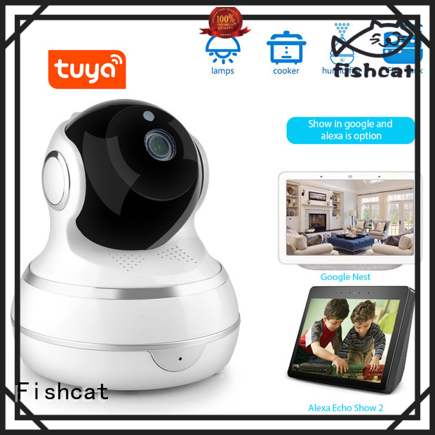 Fishcat wifi home security camera system factory life improvement