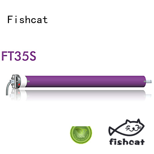 Fishcat tubular motor manufacturer widely applied for projector screen