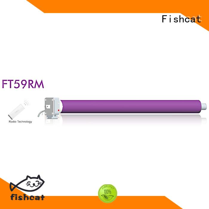 tube motors widely applied for roller shutter Fishcat