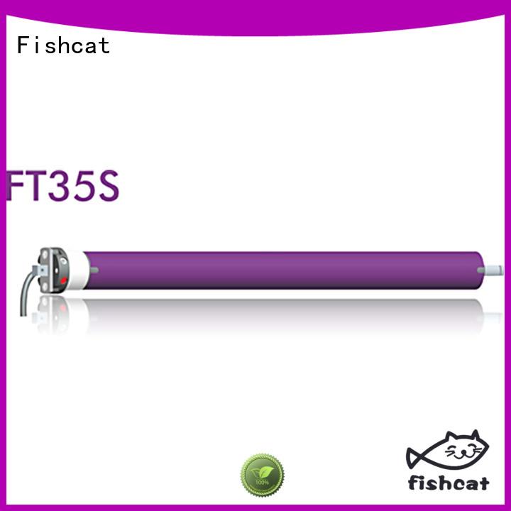 Fishcat tube motors optimal for awning