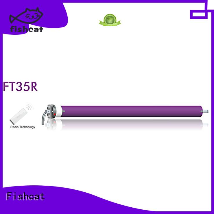 Fishcat roller shutter motor suppliers projector screen