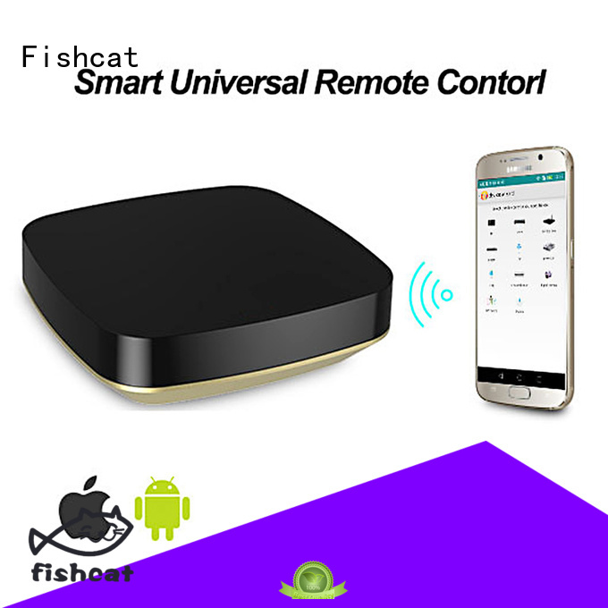Fishcat automatic wifi remote control widely used for set-top boxes