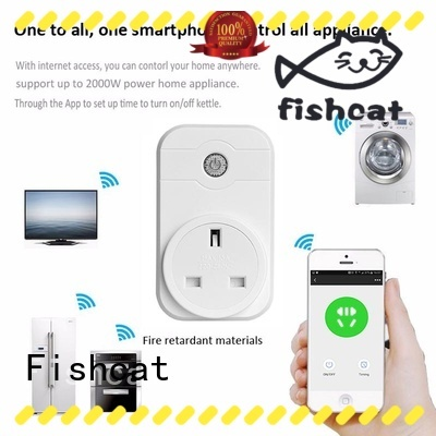 automatic wifi controlled outlet popular for smart home