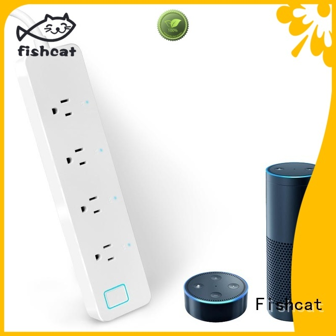 Fishcat smart power strip suitable for better life