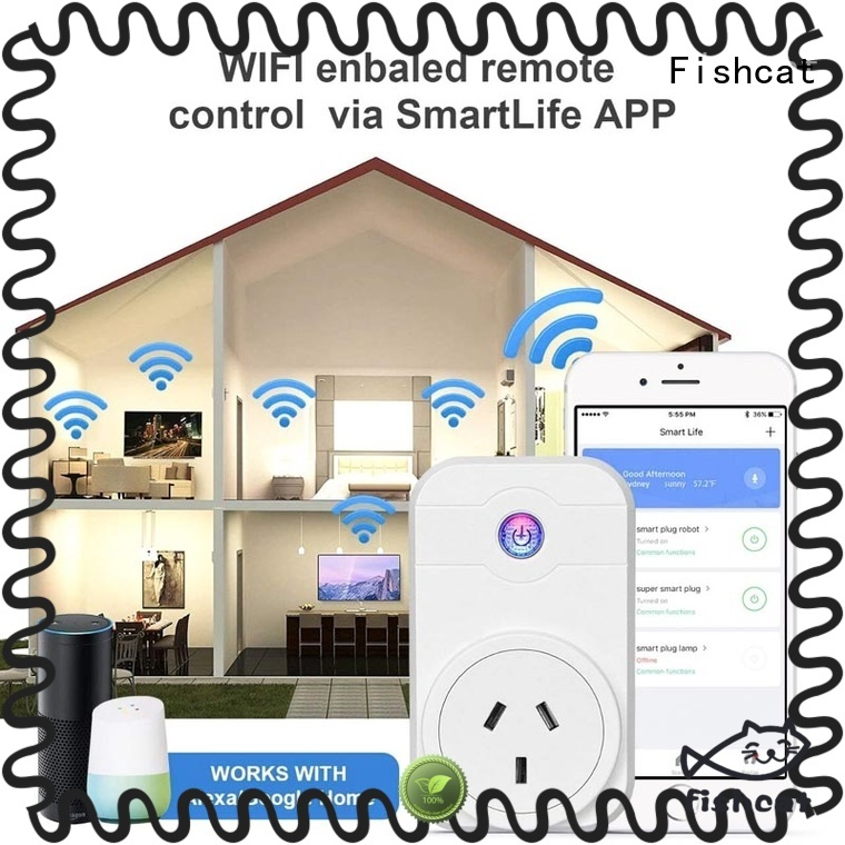 Fishcat efficient app controlled outlet excellent for electrical appliances