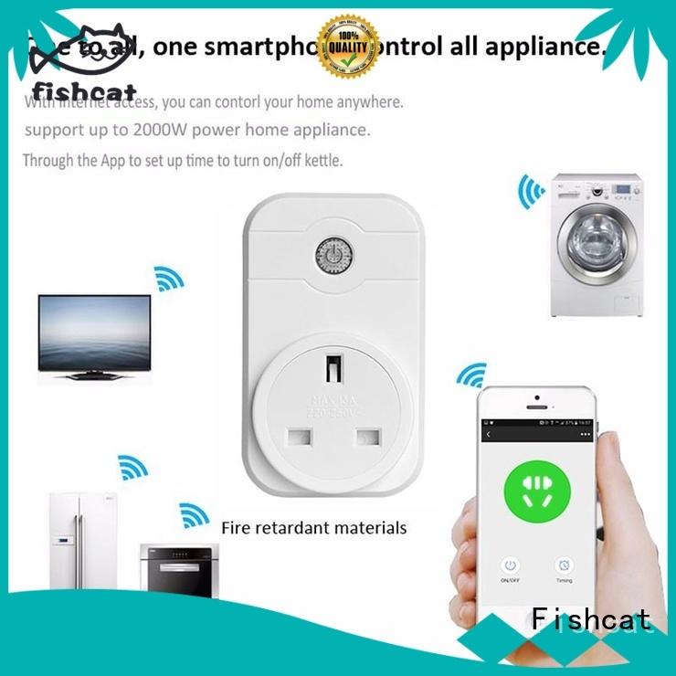 Fishcat wifi smart power plug electrical appliances