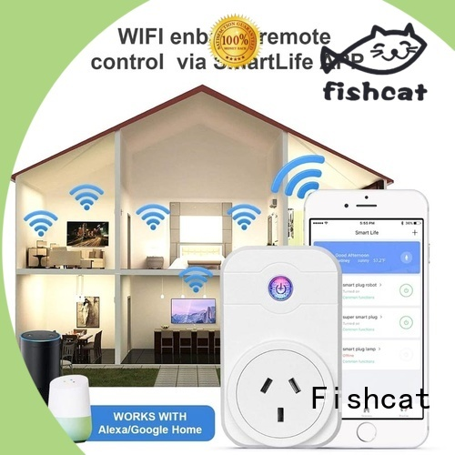Fishcat odm smartphone controlled sockets needed for smart home