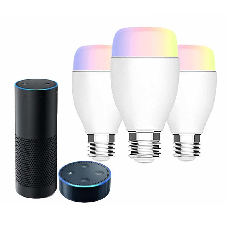 WiFi smart LED bulb wireless smart lamp
