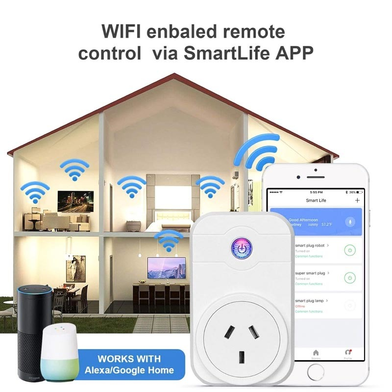 WiFi smart power socket SWA1