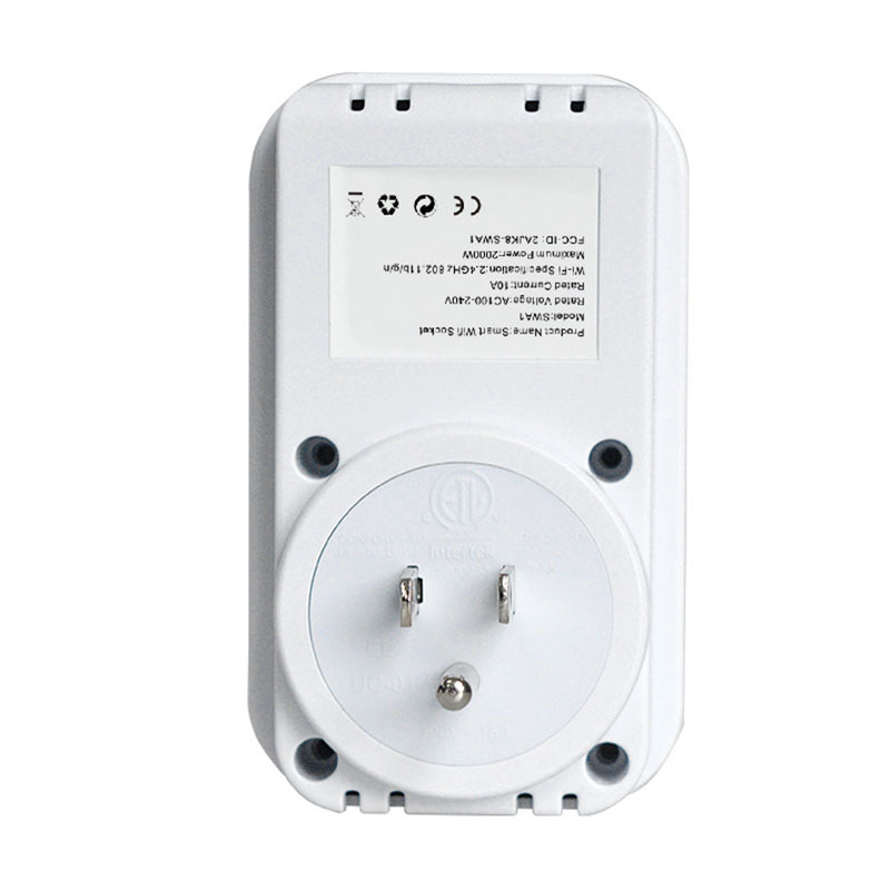 product-WiFi smart socket, WiFi power socket European regulations-Fishcat-img-1