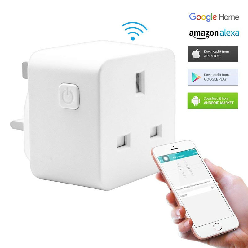 WiFi smart small socket (small British standard)