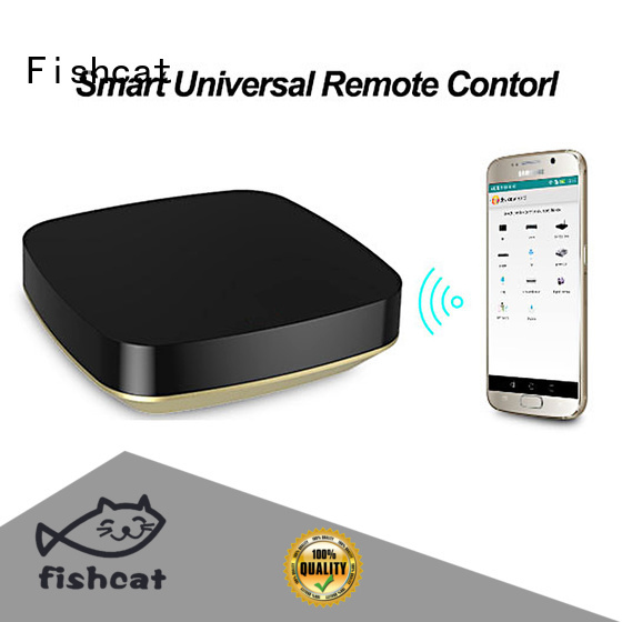 Fishcat one-hand control wifi tv remote control widely used for air conditioners