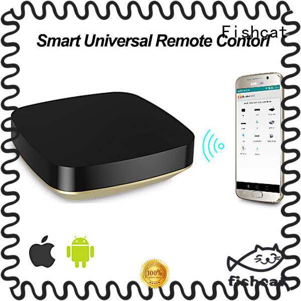 Fishcat one-hand control wifi remote controller optimal for set-top boxes