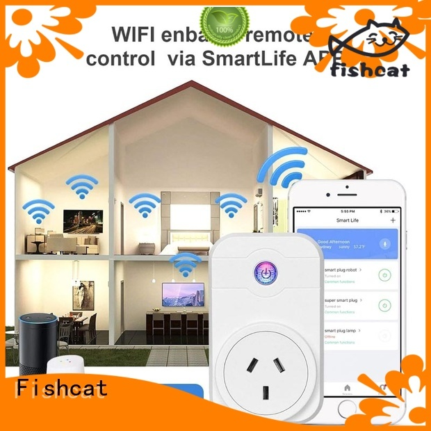 Fishcat custom wholesale smart electrical outlets factory electrical appliances