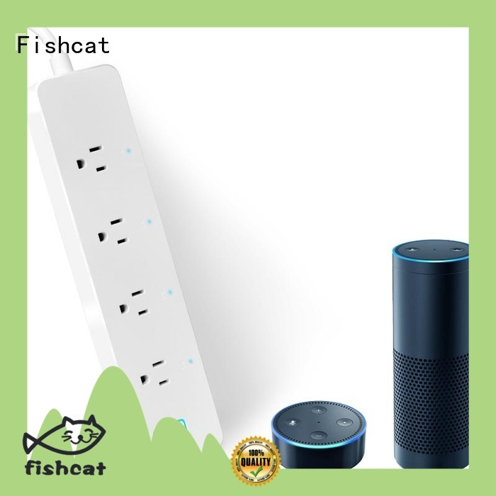 Fishcat different countries standard for option wifi power strip great for hands free