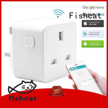 Fishcat reliable wifi smart light socket vendor voice-activated home