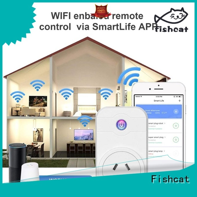 Fishcat efficient smart home electrical outlets excellent for smart home