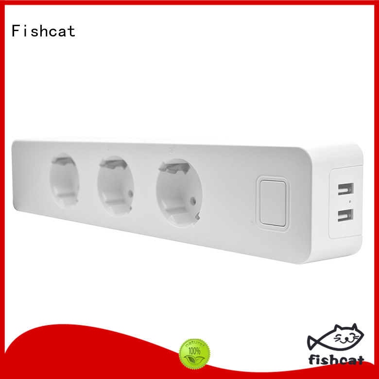 Fishcat independent control wifi power strip perfect for smart home
