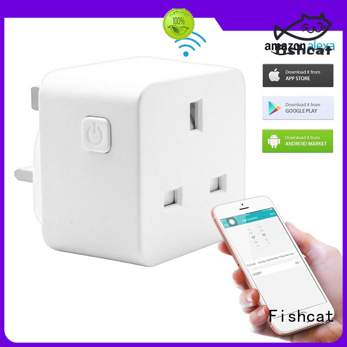Fishcat useful smart home wall socket widely employed for electrical appliances