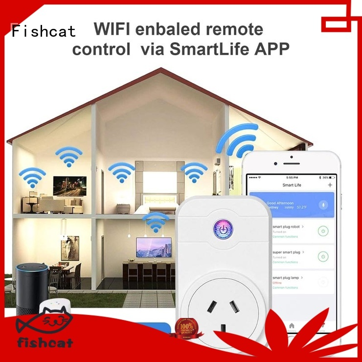 Fishcat reliable super socket very useful for voice-activated home