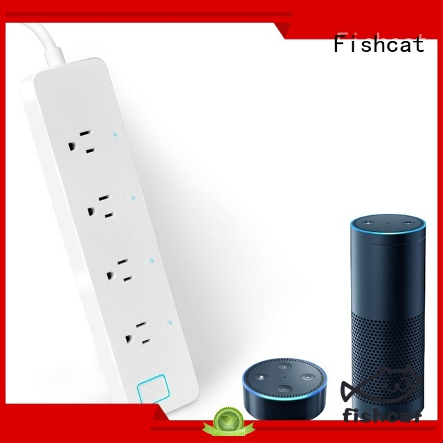 Fishcat smart home power strip optimal for home automation