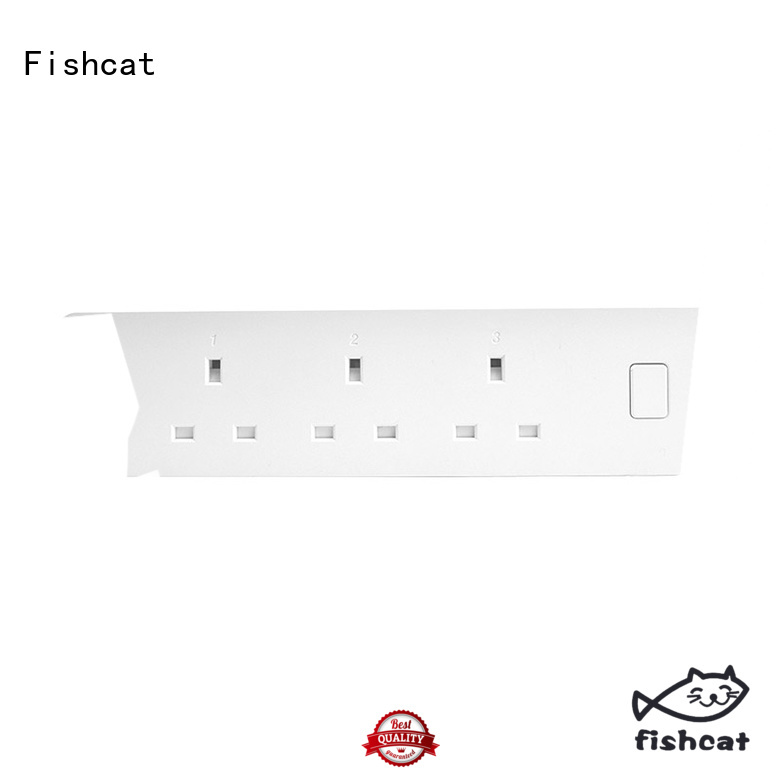 Fishcat wifi power strip widely used for saving energy