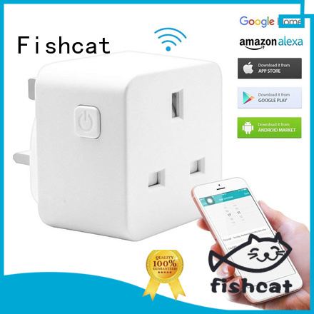 Fishcat smart plug socket widely employed for smart home