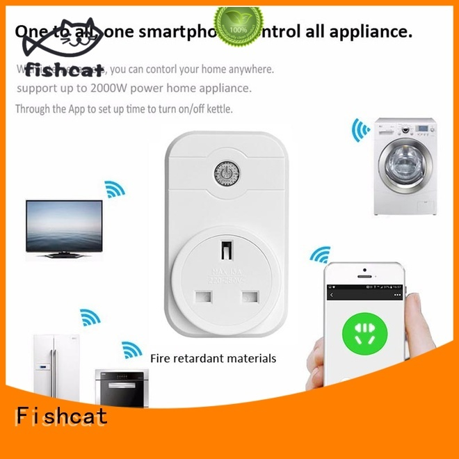Fishcat wifi controlled sockets popular for home automation