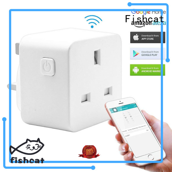 Fishcat smart home plugs voice-activated home