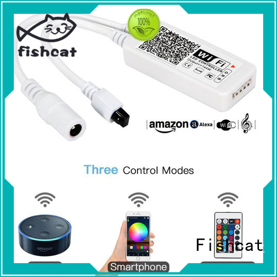Fishcat compatible with ordinary lamp strips wifi led controller optimal for