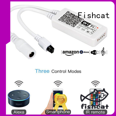 Fishcat custom smart led strip controller suitable for life improvement