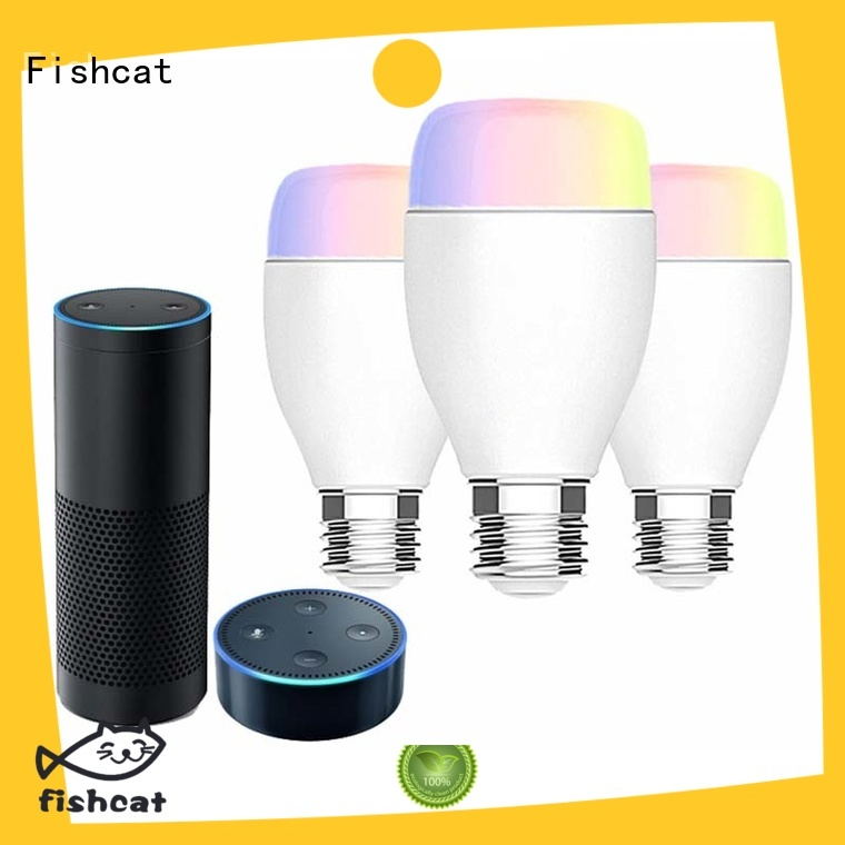 Fishcat high-tech internet enabled light bulb widely used for better life