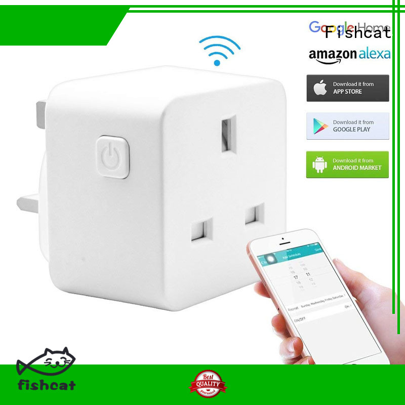 Fishcat electrical outlet controlled by iphone excellent for smart home