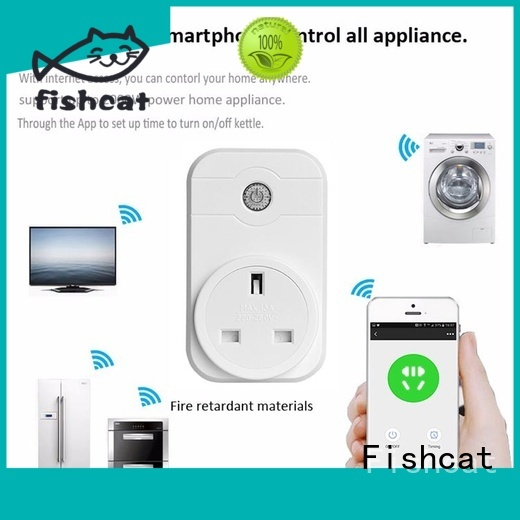 Fishcat convenient wifi controlled outlet needed for smart home