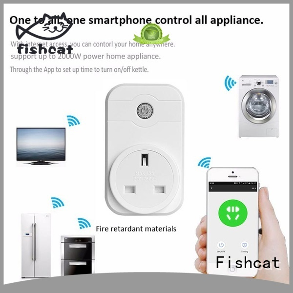 Fishcat automatic wifi remote socket needed for home automation
