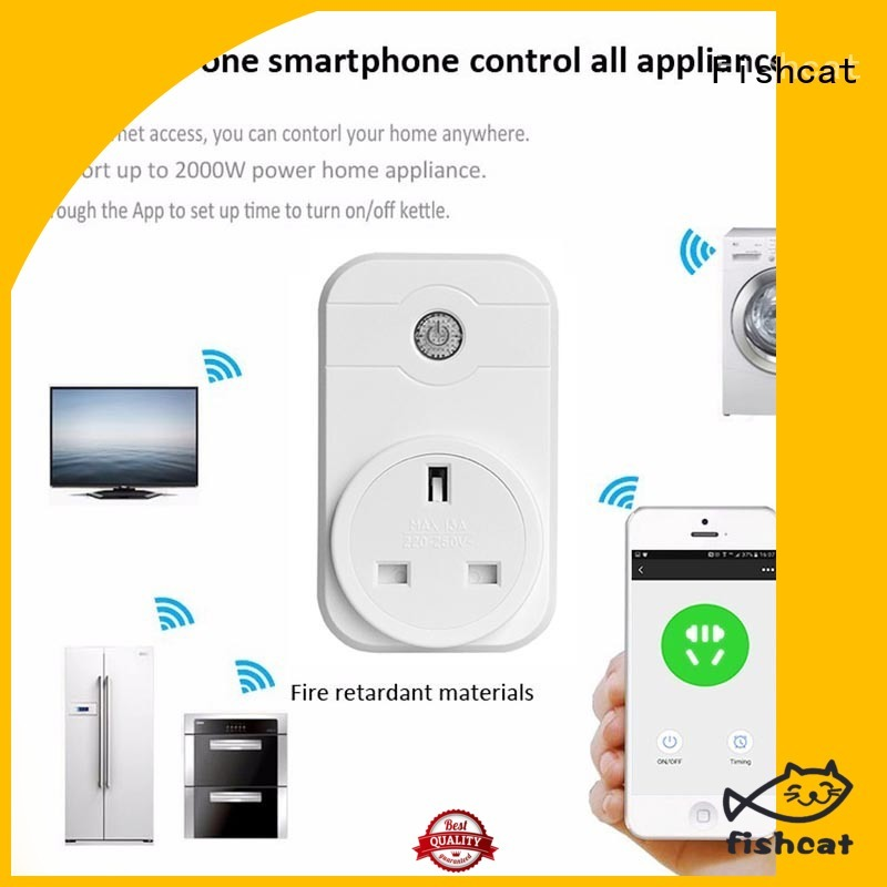 Fishcat wifi smart outlet better life