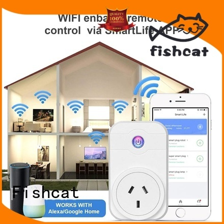 Fishcat wifi plug socket needed for voice-activated home