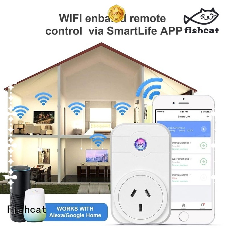 Fishcat convenient wifi controlled sockets very useful for better life