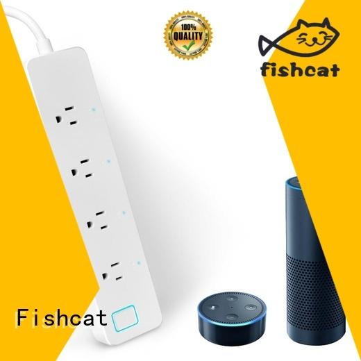 Fishcat smart home power strip suitable for saving energy