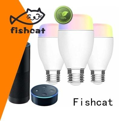 Fishcat energy saving smart led light bulbs life improvement