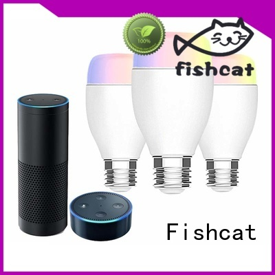 Fishcat environmentally friendly wifi bulb widely used for smart home