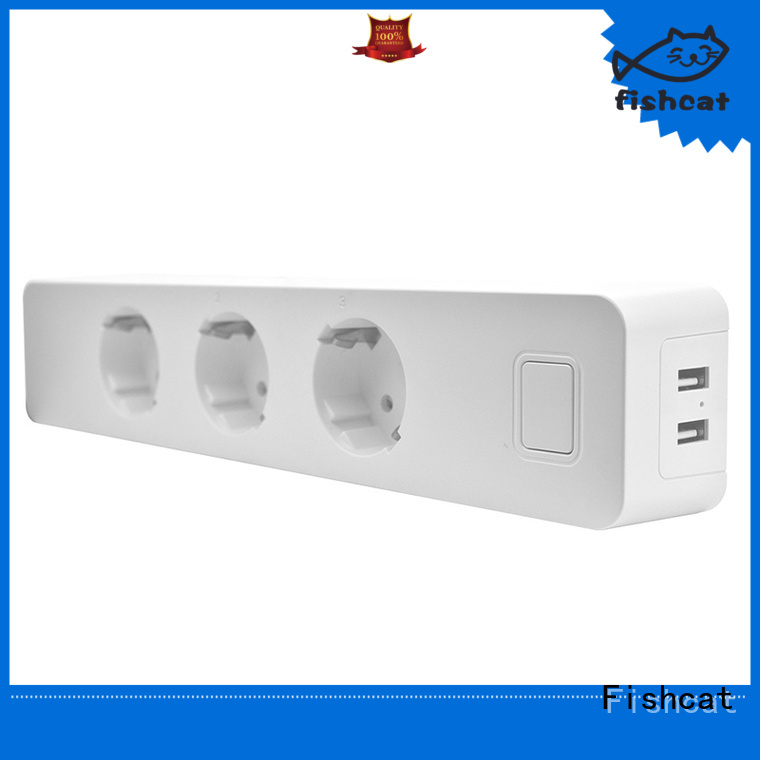 voice control wifi smart power strip nice user experience for smart home