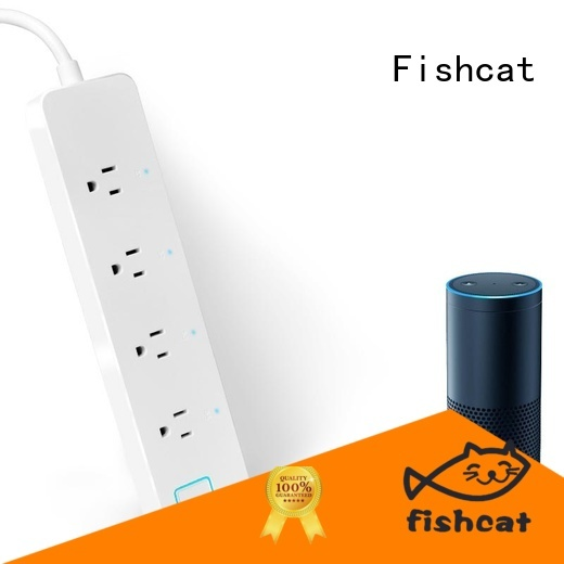 Fishcat voice control smart outlet strip perfect for better life