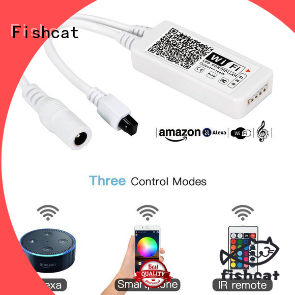 Fishcat intelligent operation led strip wifi controller perfect for releasing your hands