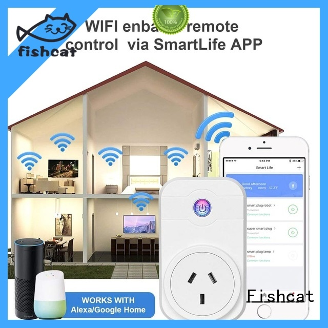 smart plug europe widely employed for voice-activated home Fishcat