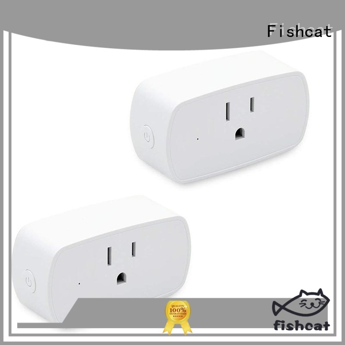 Fishcat app controlled outlet popular for home automation