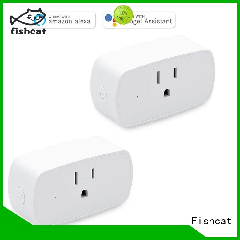 Fishcat energy saving best wifi socket widely employed for home automation