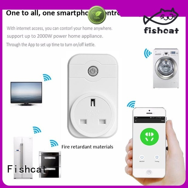 Fishcat automatic wifi electrical outlet electrical appliances