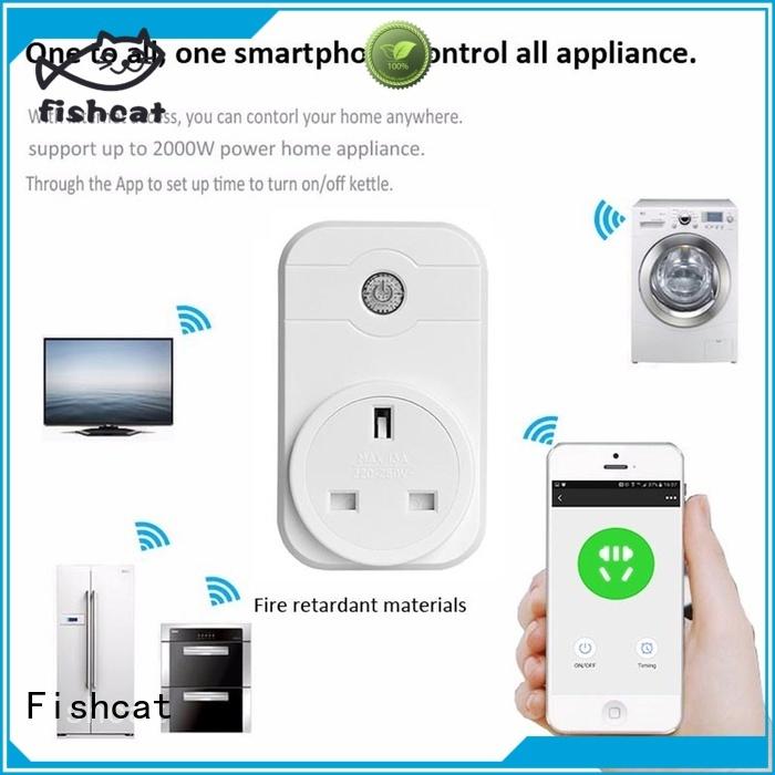 Fishcat wifi smart home socket home automation